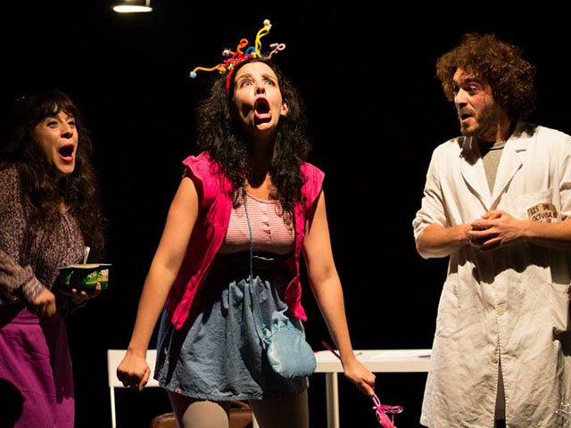 Actriz de teatro