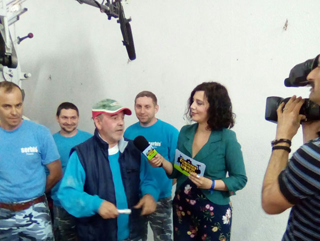 Reportera periodista